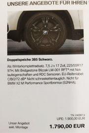 4 Winterreifen BMW Bridgestone gebraucht