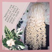 Lockige 80cm lange Haar Extensions