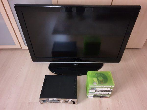 Xbox 360 mit LCD-TV