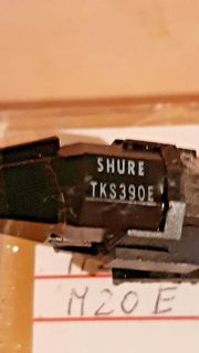 NOS Tonabnehmer Dual Shure TKS390E
