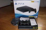PS4 neuwertig 500GB schwarz mit