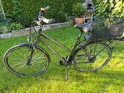 E Bike Damen city bike