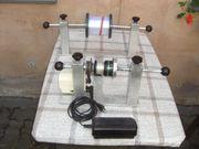 Schnurspulgerät für Angler
