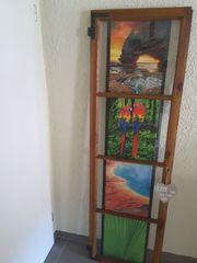 Altes Holzfenster Deko