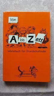 Wörterbuch für Grundschulkinder - Von A