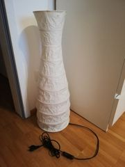 Ikea Standleuchte Stehlampe Lampe Papier