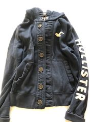 Hollister Sweatshirt Jacke mit Knöpfen