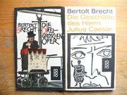 BRECHT BERTHOLD - VERSCHIEDENE BÜCHER Z