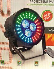 Neue Bühnen LED Spots für