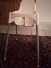 IKEA Hochstuhl weiß - Füße abnehmbar