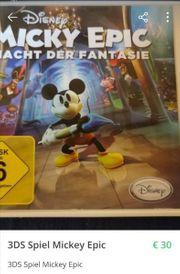 3DS Spiel Mickey Epic