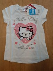 t-shirt hello kitty neu
