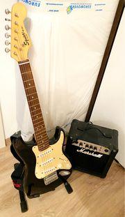 Fender Squier Mini Gitarre Marshall