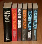 KONVOLUT - Romane von Agatha Christie -