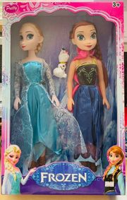 Frozen Puppe Elsa Anna Kristallzauber