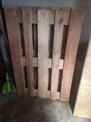 4 Holz paletten neu