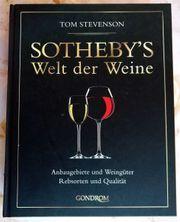 Wein-Buch von Sothebey s Welt