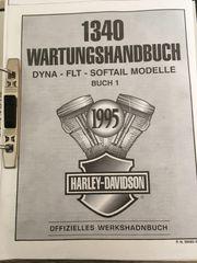 Wartungs-und Reparaturhandbuch Harley Davidson Dyna