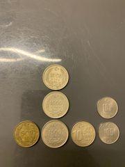 Türkische Lira Münzen Geld Türk