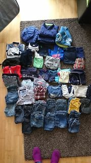 Kleiderpaket Jungs 74 bis 86