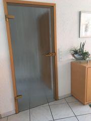 Glastüre für Wohnraum