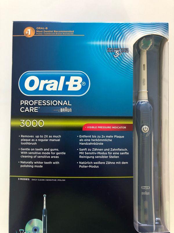 Oral B 3000 Zahnbürste