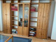Wohnzimmerschrank Buche massiv neuwertig