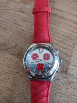 Uhren - Swatch Irony Midi Chrono Peperino