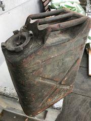 Benzinkanister alt US Army Original