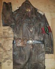 Wehrmacht Leder Mantel Weltkrieg 2