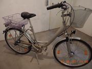 City Bike Alu Vollgefedertes Damenrad