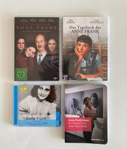 Anne Frank 2 DVDs Buch