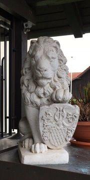 Löwe Stein Wächter sehr schwer