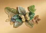 Wandbild Schmetterling bunt Metalldeko Wanddeko