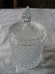 Bonbonglas Bonbonniere Vorratsglas Glasgefäß Glas