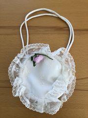 kleine weiße Tasche für Kommunion