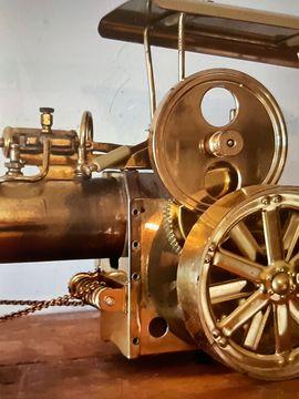 Dampfwalze Dampfmaschine aus Messing Old: Kleinanzeigen aus Otterstadt - Rubrik RC-Modelle, Modellbau