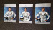 Autogrammkarten Formel 1 Wurz Räikkönen