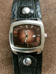 Fossil Armbanduhr Jr8985 Braun Steel