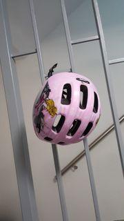 Mädchen Fahrradhelm von Uvex rosa