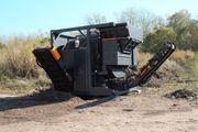 Mobile Trommelsiebanlage Grundstücksberäumung