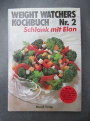 Kochbuch Weight Watchers - Konvolut