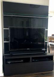 TV-Schrank IKEA BESTA mit Rückwand