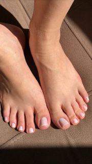 Fußbilder Socke