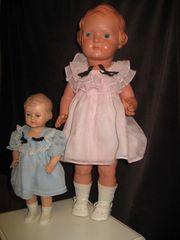 alte Schildkröt Puppe 45 cm