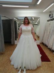 Brautkleid weiß größe 46