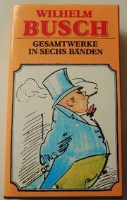 Wilhelm Busch Gesamtwerke in sechs