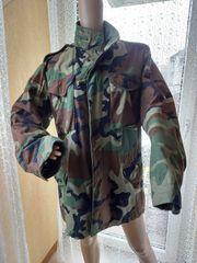 US Army Tarnjacke Camoflage Long