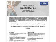 Mitarbeitender Supply CHain Logistik m