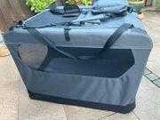 Transportbox für Hunde textil und